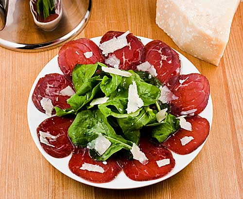 Bresaola with Arugula