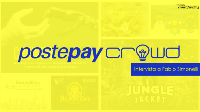 Postepay Crowd intervista