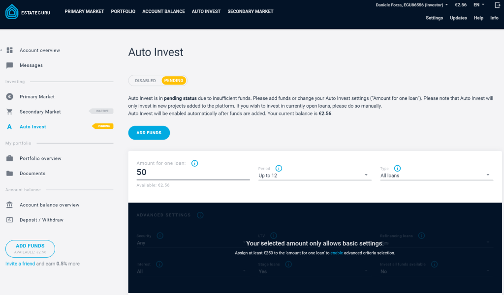 estateguru autoinvest