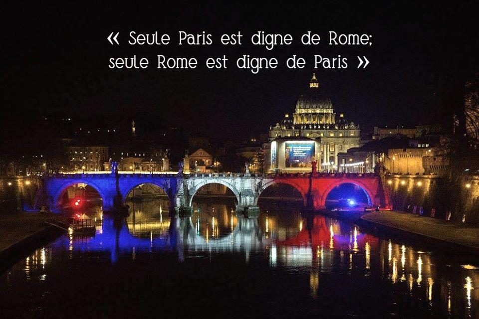 #RomaParis, 64 ans de jumelage entre Rome et Paris.