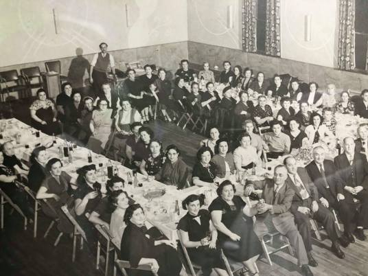 Society Members at the Society Hall Circa 1940