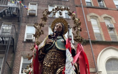 The Feast of Saint Rocco in 2020