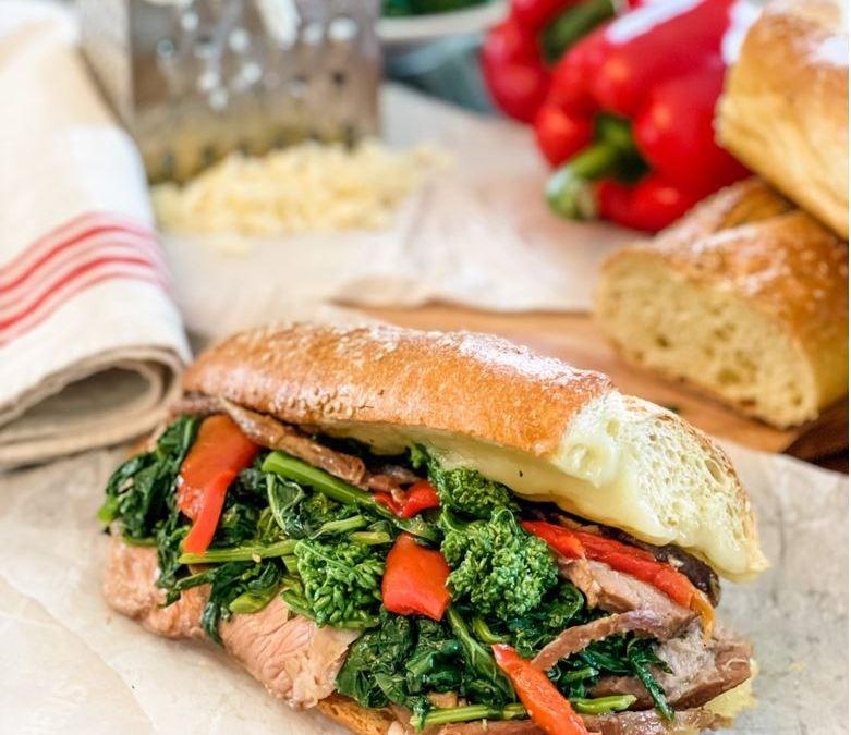 Roast Pork Hero: A Philadelphia Italian Enclave Favorite