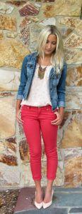 Giacca di jeans corta