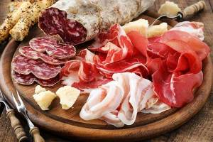 Cold Cuts Italian Food Asia Thailand