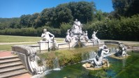 Pause to ponder: three fountains in Casertas Royal Palace ...
