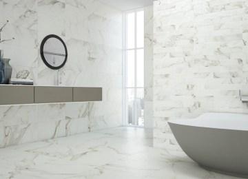 Gres Porcellanato Effetto Marmo Lucido Prezzi   Pavimenti Moderni
