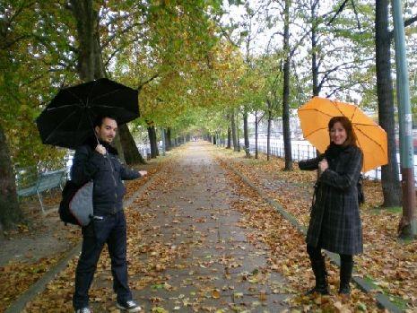 L'Allée des Cygnes in autunno