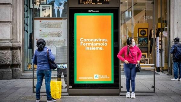 Vacina contra coronavírus testada na Itália