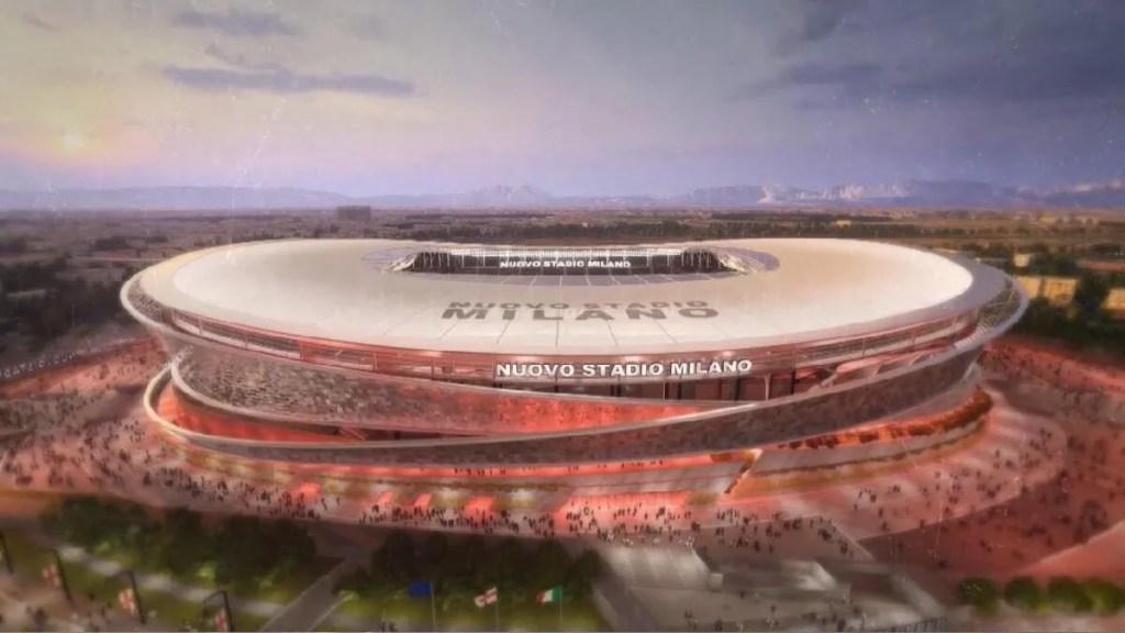 Arena San Siro novo estádio