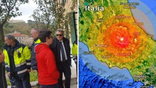 Terremoto em Roma