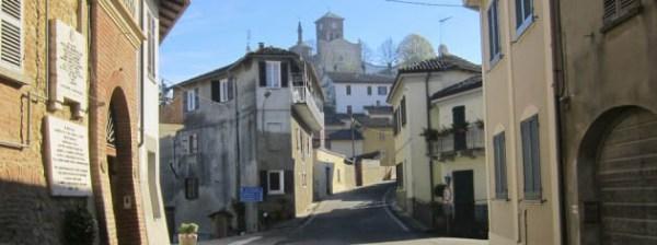 Monferrato Italy and the village Grazzano Badoglio