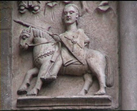 Duomo di Fidenza, il Ciclo dei Mesi: Maggio