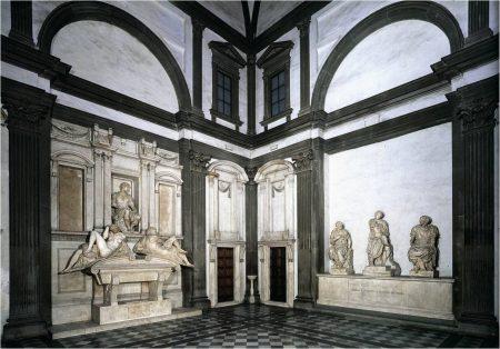 Капелла Медичи. Интерьер. 1520-1534 гг.