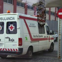 L'ambulanza spagnola