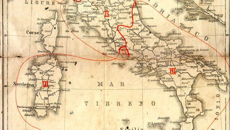italia desrizione geografica