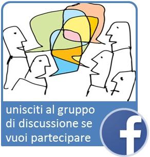 unisciti al gruppo di discussione se vuoi partecipare