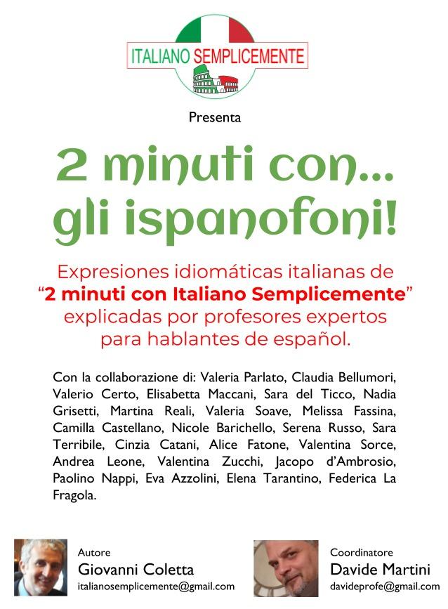 Italiano per Ispanofoni