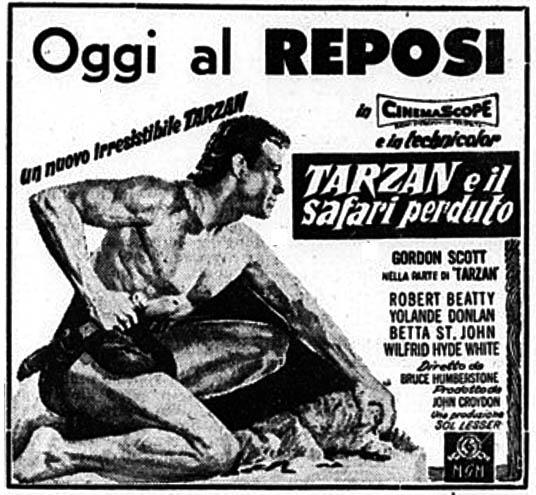 Tarzan e il safari perduto (1957)