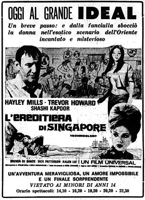 L'ereditiera di Singapore (1967)
