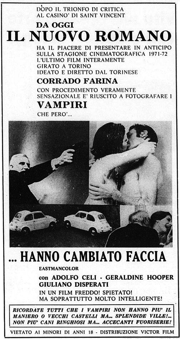 Hanno cambiato faccia (1971)