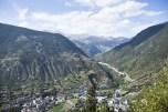 View of the Andorra la Vella