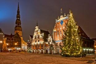 Riga At Christmas