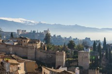 Old Skyline of Granada Spain