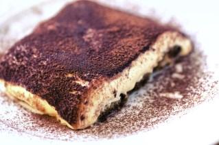 Tiramisu cake in Italy