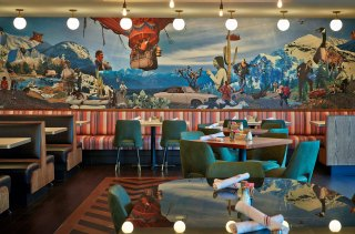 The Normal Diner Interior