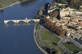 Pont d'Avignon aerienne