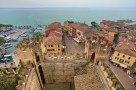 View of Sirmione and Lake Garda.