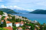 View of Herceg Novi and the Bay, Montenegro