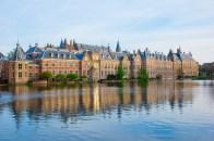 Binnenhof Castle, on the banks of the Hofvijver