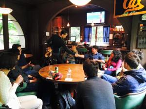 Aperitivo UC Berkeley/LBL affiliates – January 26
