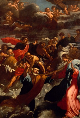 Peter Saved from the Water, Vatican Splendors
