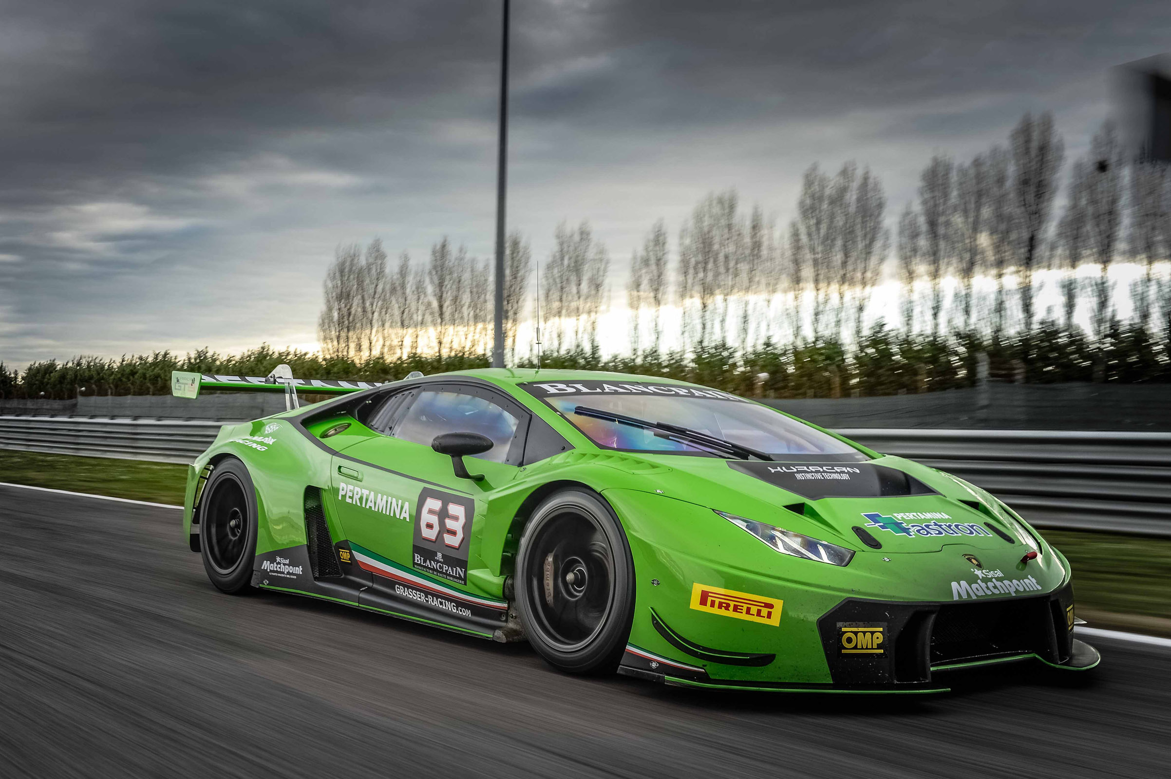 Lamborghini Huracan Gt3 To Make North American Gt3 Racing