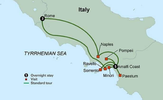 o que fazer na Costa Amalfitana - tour amalfi