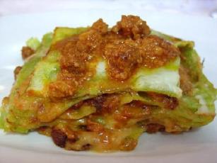 green lasagna