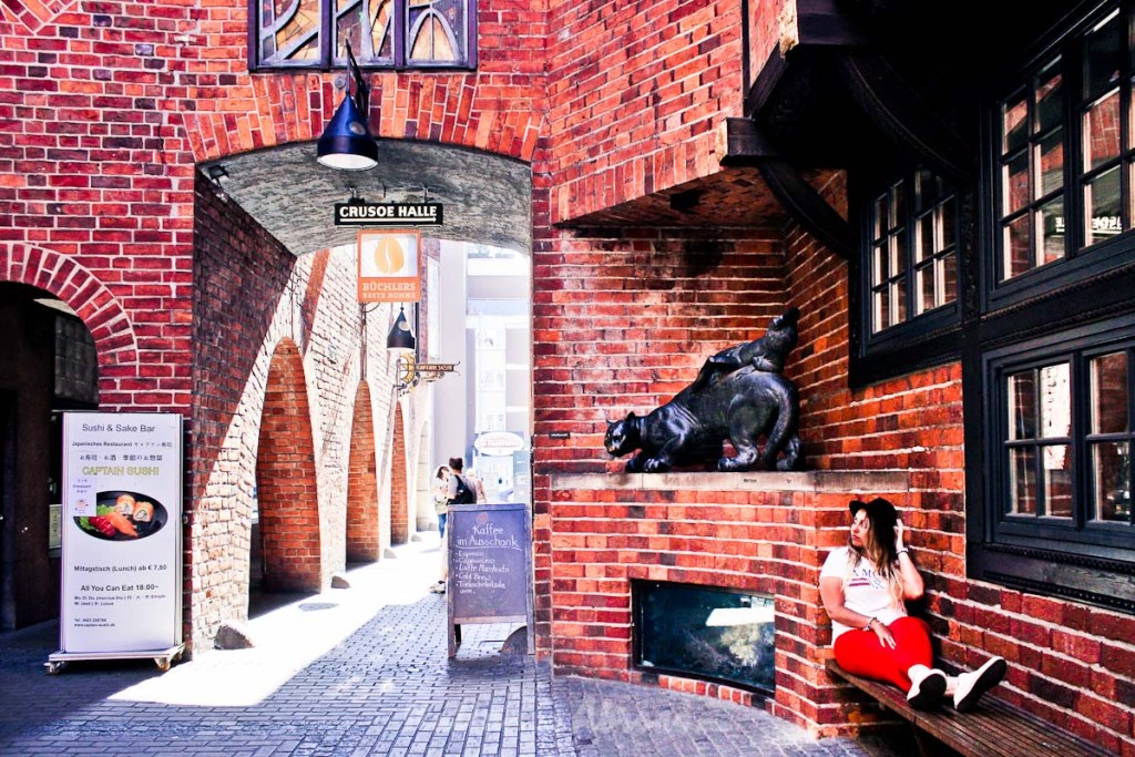 The fairytales of Bremen - Germany