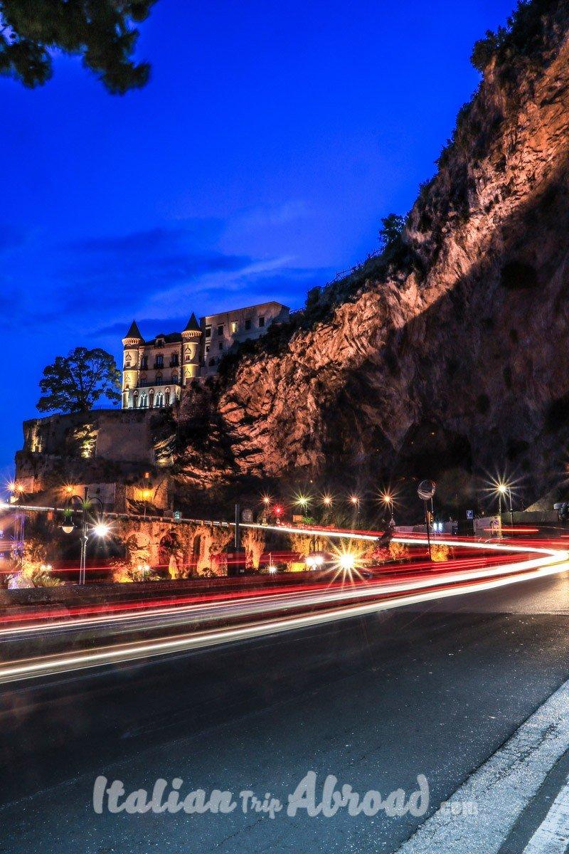 Amalfi coast cetara curve - gianluca acampora - italian trip abroad