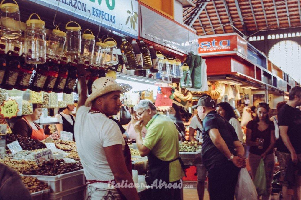 malaga market of Atrazana