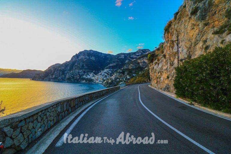 positano Amalfi Coast the curve - gianluca acampora - italian trip abroad
