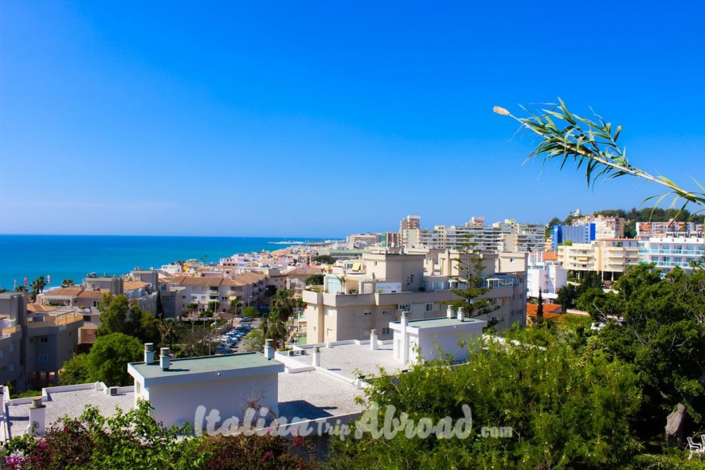 Seaview of Andalucia from the Torremolinos Terrace - The closest destination for day trips from Malaga