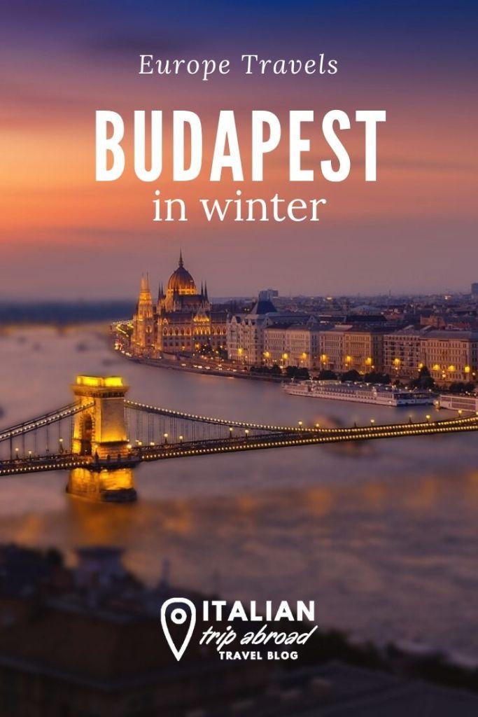 Winter in Budapest - Pinterest