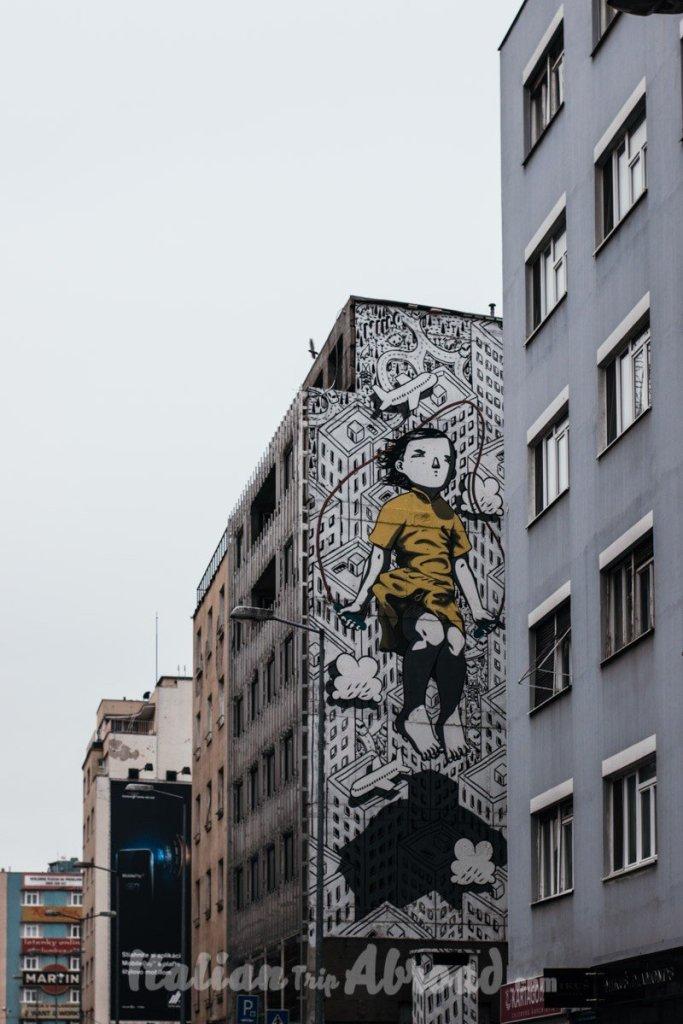 Street Art in Bratislava - One day in Bratislava