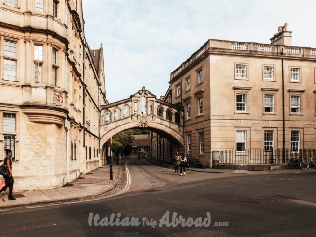 Oxford one day itinerary- Sight Bridge