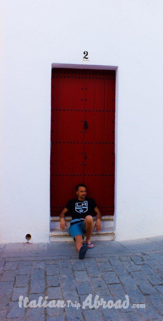 Sevilla Bullring area