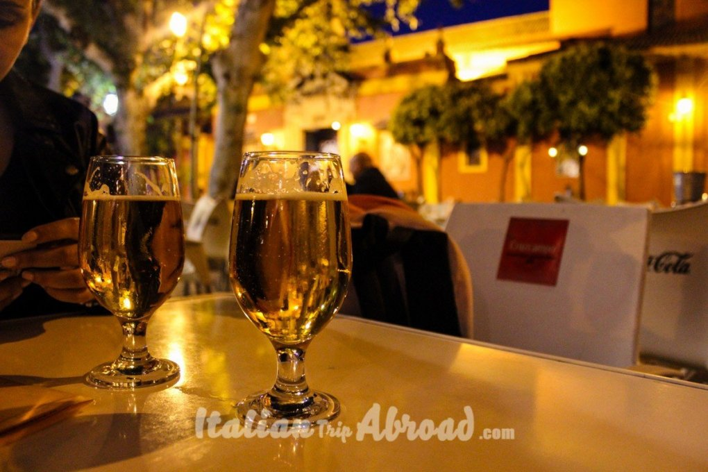 The beauty of Sevilla - Discover Sevilla - where eat and drink in Sevilla sevilla at night