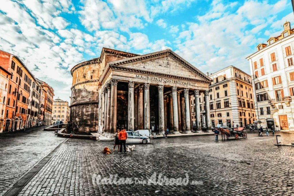 Rome Pantheon - Photography Rome